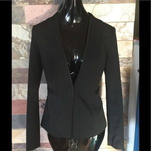 Cache Black Tailored Chic Blazer Women SZ 4